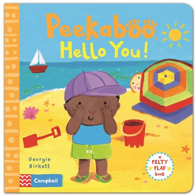 Book cover for Felty Flaps: Peekaboo, Hello You!